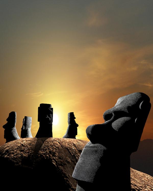 1_Moai Mountain